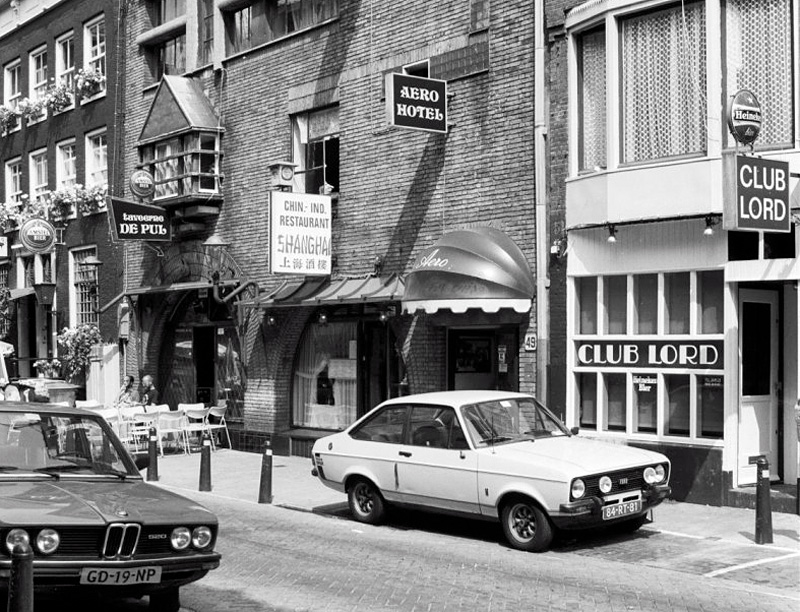 Homozaken in de Kerkstraat in 1983